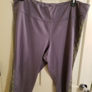 Cato plus size workout crop pants